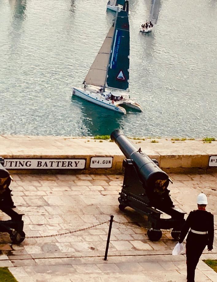 Asià alla partenza Middle sea race 2019-10-23 at 08.29.03